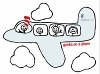 Geeks on a Plane