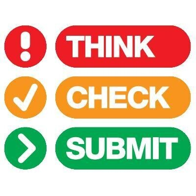 Think Check Submit