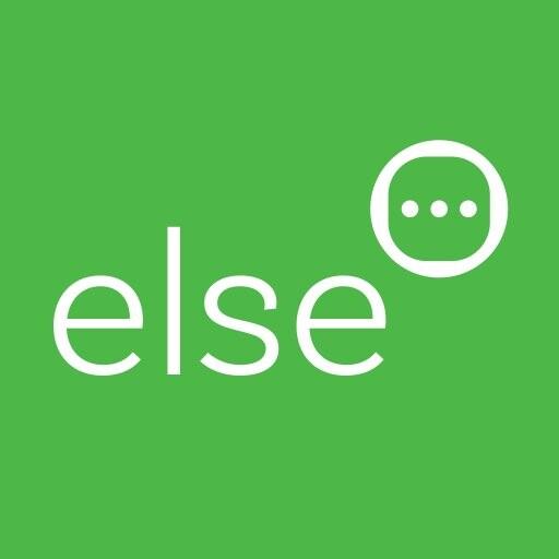 Else . . .