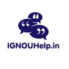 IGNOU Help