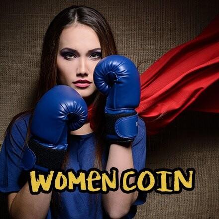 women coin